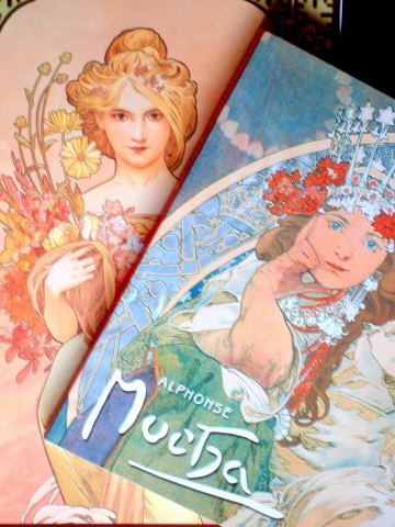 Mucha monography and Posters
